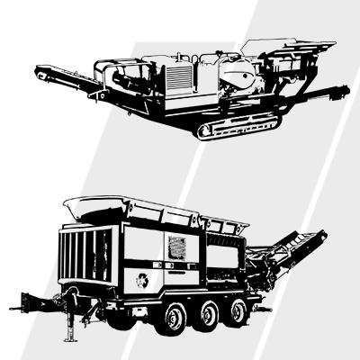 Matériels de Carrière/Recyclage/Environnement