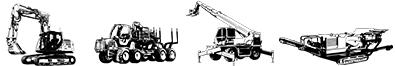 Illustration Métiers Travaux Publics, Forestiers, Levage/Manutention, Carrière/Recyclage/Environnement