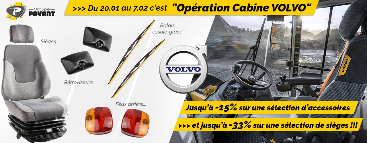 Promo : Opération Cabine Volvo !