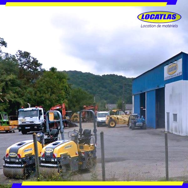 Locatlas Tarbes / Louey - Compacteurs