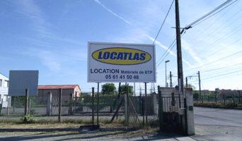 Panneau Locatlas 31 - Portet-sur-Garonne