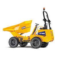 Dumper 4,5 tonnes Power-Swivel Giratoire MACH 444 Hydrostatique Thwaites