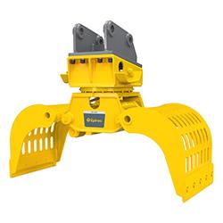 Grappin hydraulique d'excavatrice MG 1000 Epiroc