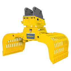 Grappin hydraulique d'excavatrice MG 1800 Epiroc