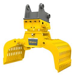 Grappin hydraulique d'excavatrice MG 2700 Epiroc