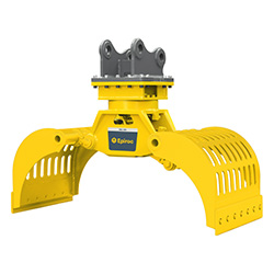 Grappin hydraulique d'excavatrice MG 300 Epiroc