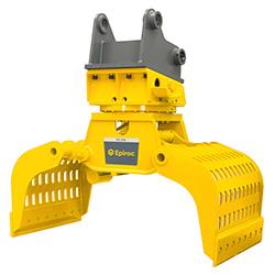 Grappin hydraulique d'excavatrice MG 3000 Epiroc