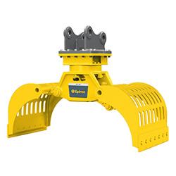 Grappin hydraulique d'excavatrice MG 400 Epiroc
