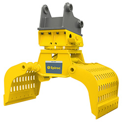 Grappin hydraulique d'excavatrice MG 5000 Epiroc