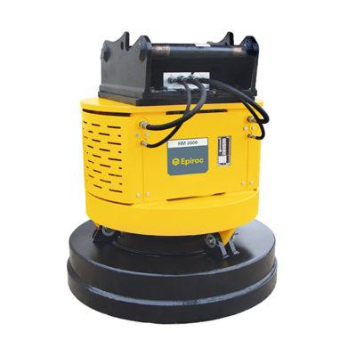 Aimant Hydraulique HM 2000 pour Excavatrice Epiroc