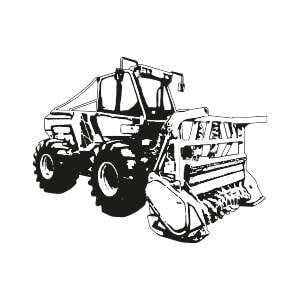 Tracteurs forestiers porte-outils d'occasion
