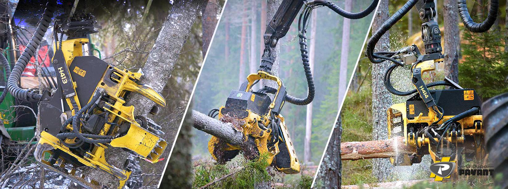 Têtes d'abattage forestières John Deere