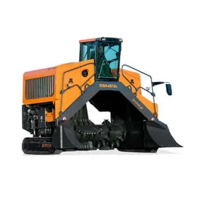 Retourneur aérateur d'andain à compost MBA 4512g Pronar