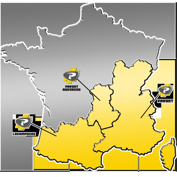 Zone de distribution des matériels de Carrière / Recyclage / Environnement du Groupe PAYANT