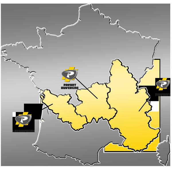 Zone de distribution des matériels de Levage / Manutention du Groupe PAYANT