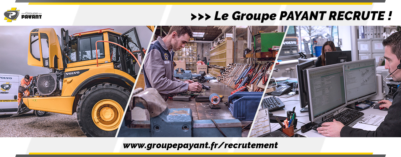 Le Groupe PAYANT Recrute !
