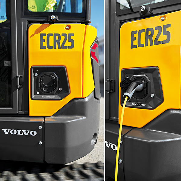 Pelle compacte ECR25 ELECTRIC Volvo CE