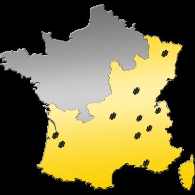 Carte des Magasins du Groupe PAYANT