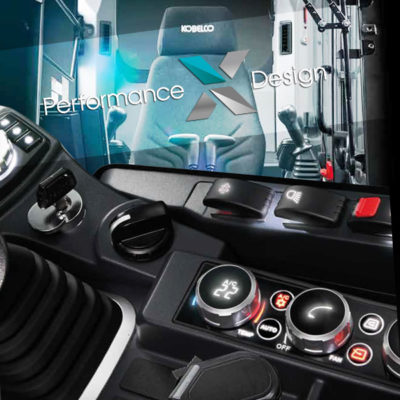 Cabine ED160BR-7 Kobelco - Performance X Design