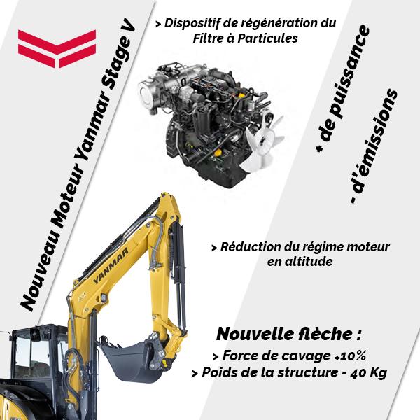 Mini pelle ViO50-6B : Fiabilité et performances