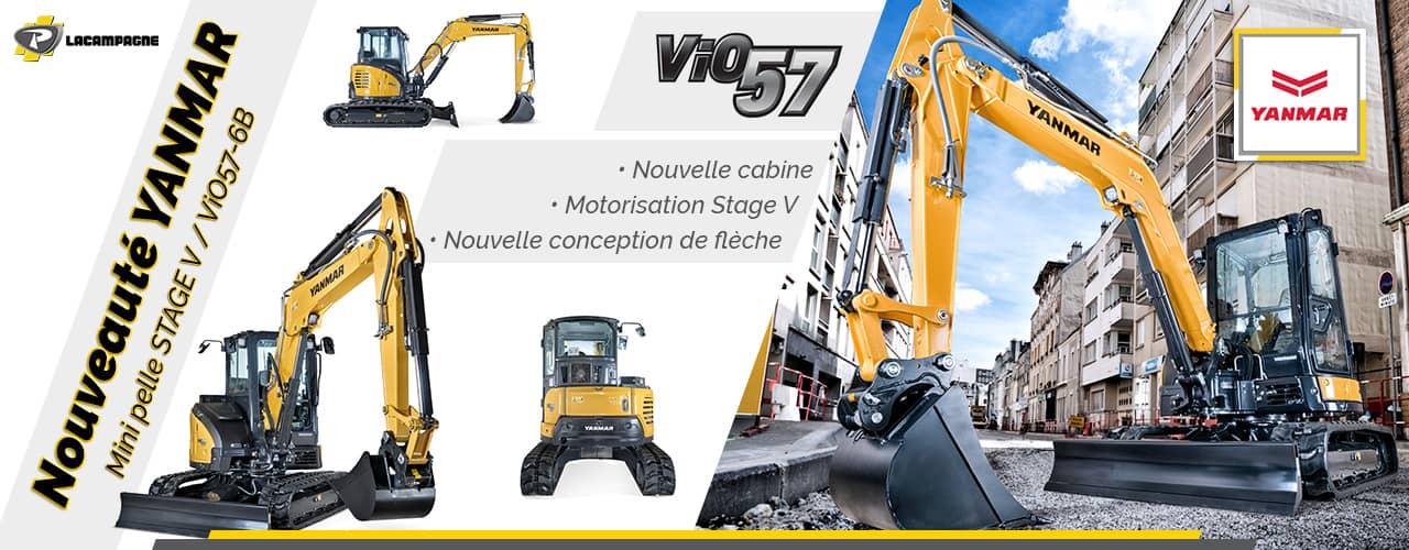 Nouveauté YANMAR - ViO57