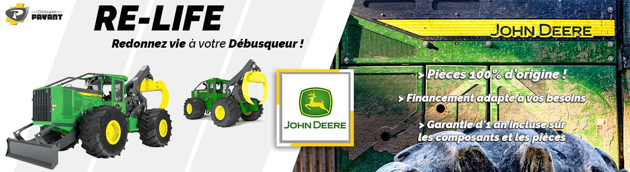 Programme Re-Life John Deere : Redonnez vie à votre débusqueur