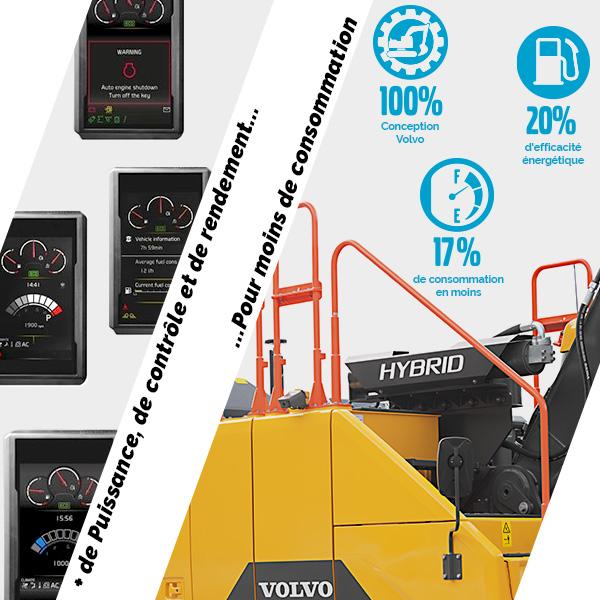 EC300E Hybride : Propre, fiable et économique