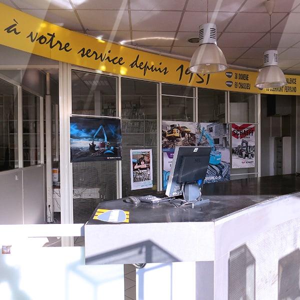 Service Magasins/Pièces Groupe PAYANT