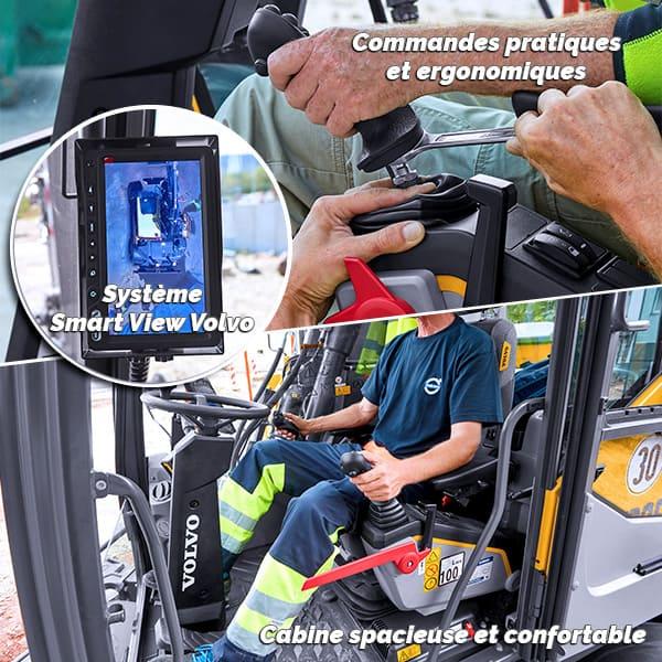 EWR130E : confortable et ergonomique