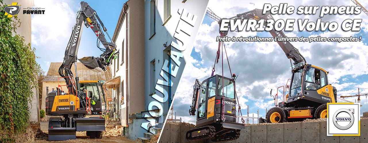 Nouvelle EWR130E Volvo CE