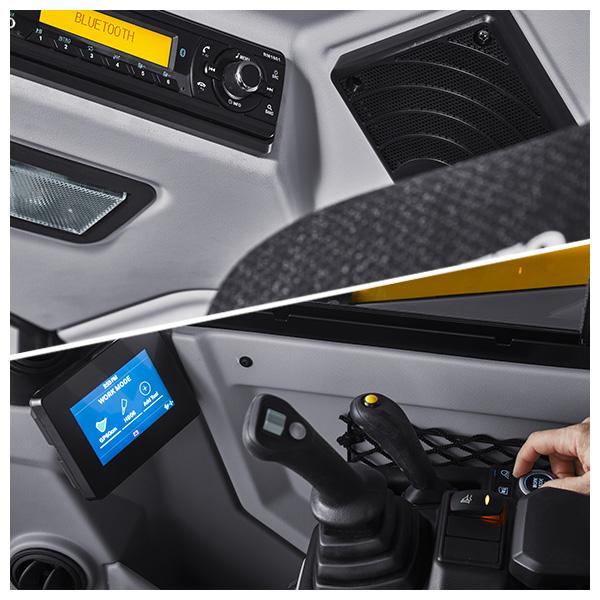 Pelle compacte ECR0 génération F Volvo CE