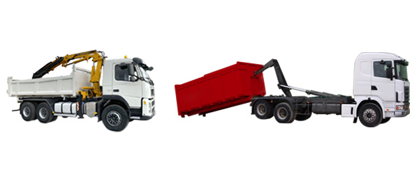 Grues auxiliaires / Bennes amovibles