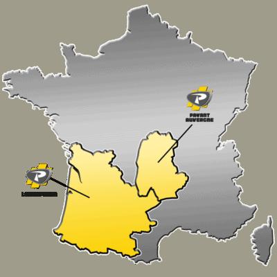 Zone de distribution Kobelco - Groupe PAYANT