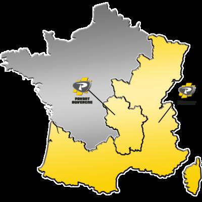 Zone de distribution AXSEL du Groupe PAYANT