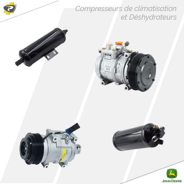 Compresseurs de climatisation et déshydrateurs John Deere - Groupe PAYANT