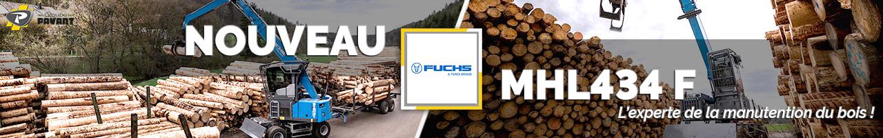 Nouvelle pelle industrielle MHL434 F Fuchs - Groupe PAYANT