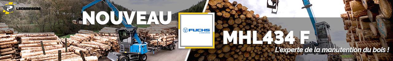 Nouvelle pelle industrielle MHL434 F Fuchs - Lacampagne