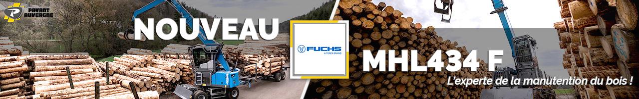 Nouvelle pelle industrielle MHL434 F Fuchs - Payant Auvergne