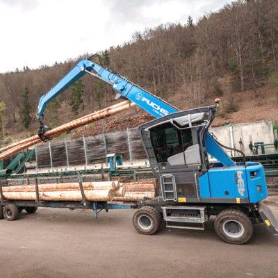 Pelle industrielle MHL434 F Fuchs Terex