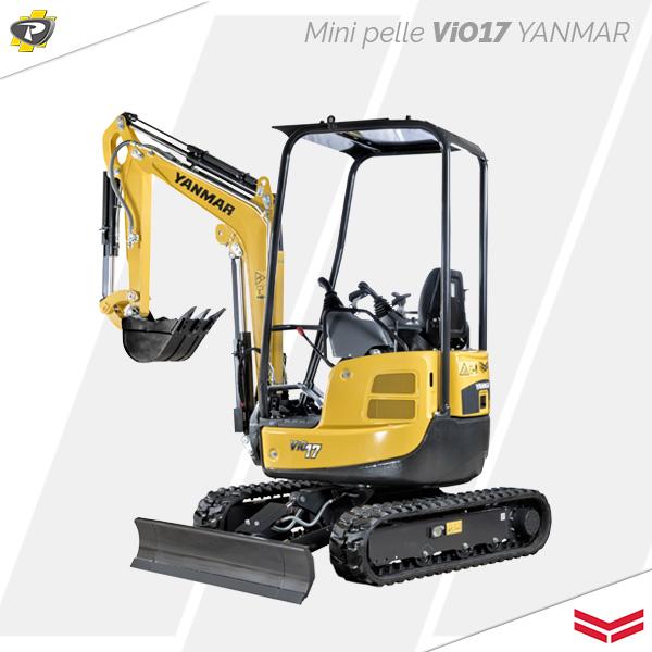 Mini pelle ViO17 Yanmar
