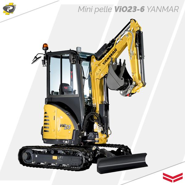 Mini pelle ViO23-6 Yanmar