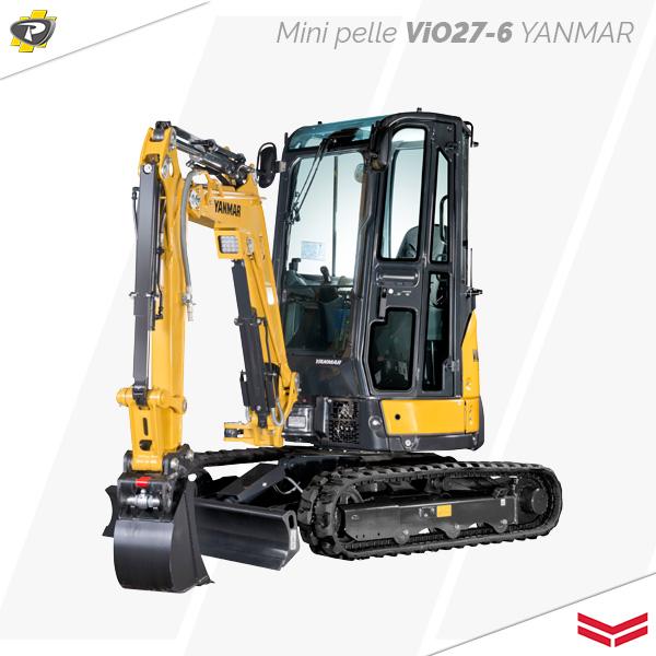 Mini pelle ViO27-6 Yanmar