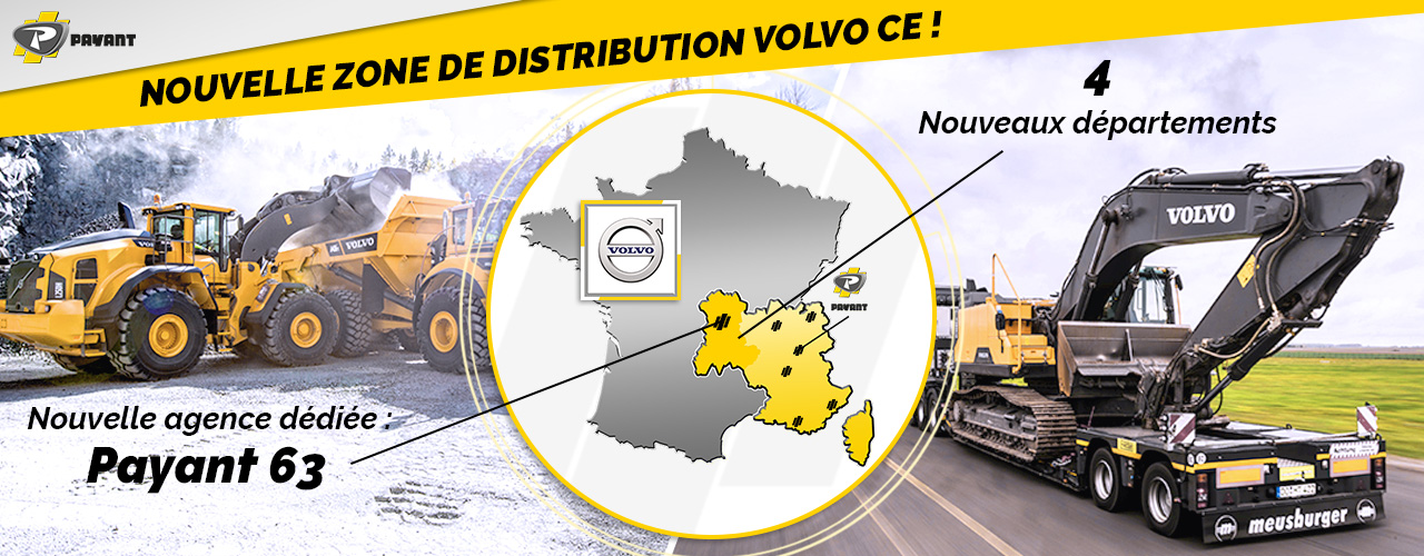 Nouvelle zone de distribution Volvo !
