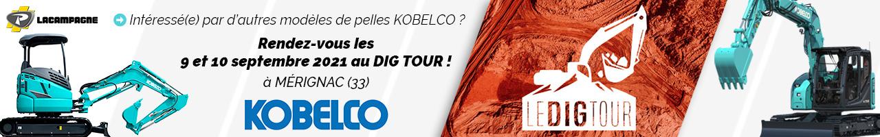 Événement : Dig Tour 2021 avec Lacampagne et Kobelco