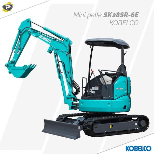 Mini pelle SK28SR-6E Kobelco
