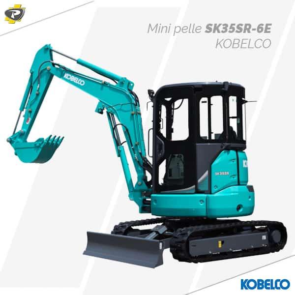 Mini pelle SK35SR-6E Kobelco