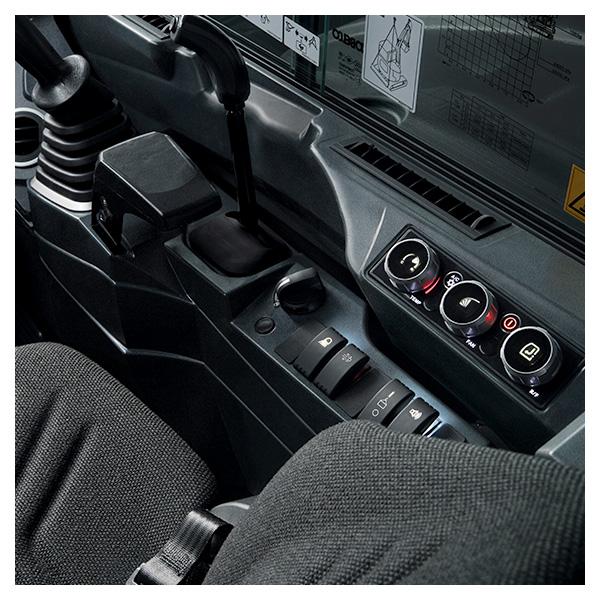 Mini pelles SK50SRX-7 et SK58SRX-7 Kobelco