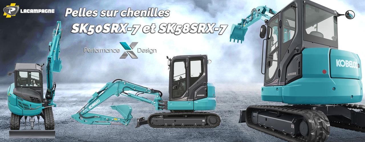 Nouvelles SK50SRX-7 et SK58SRX-7