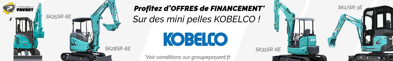 Offres de financement Kobelco - Groupe PAYANT