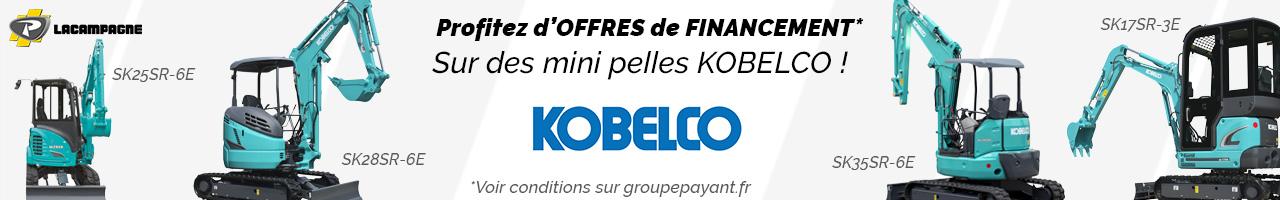Offres de financement Kobelco - Lacampagne